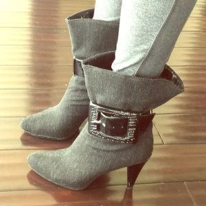 Jessica Simpson Buckle Booties